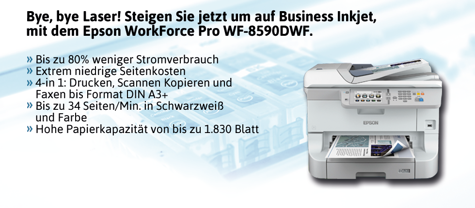 Epson WorkForce Pro WF-8590DWF Inkjet