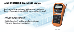 BROTHER P-touch E110